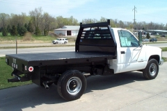 image of steel flat bed 10