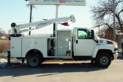 images of service truck