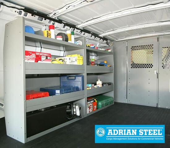 image of Adrian Steel Van Shelving