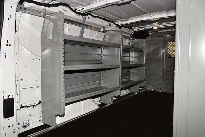 image of Adrian Steel Van Shelving