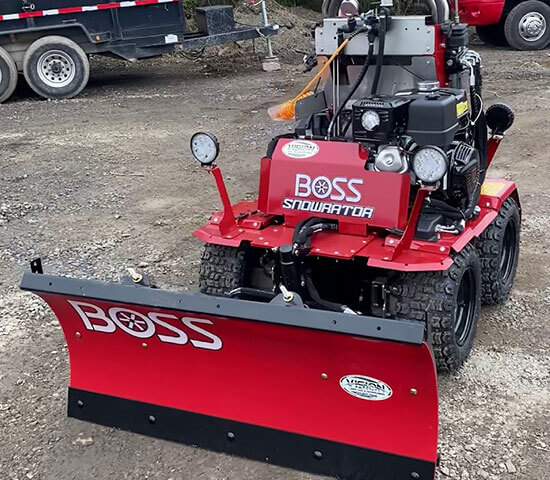 image of BOSS Snowrator Ride On Snow Equipment