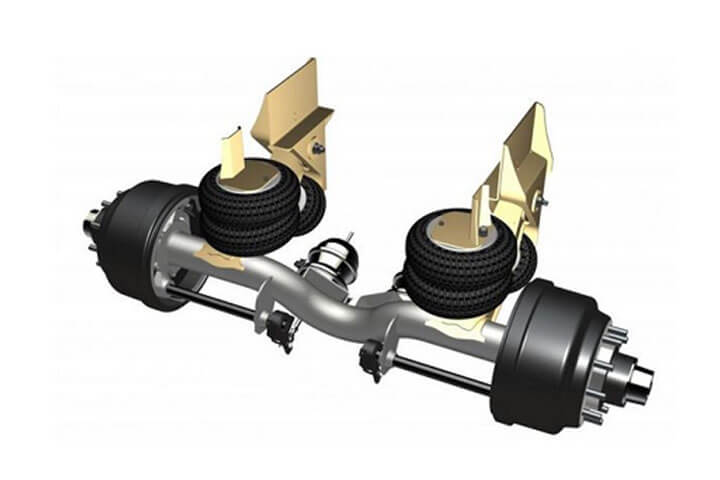 image of Ridewell Nonsteering Suspensions