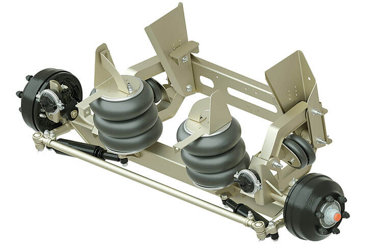 image of Ridewell RSS 233 8K Self Steering Auxiliary Axle