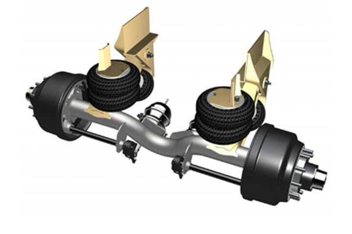 image of Ridewell RUL 245 Non Steerable Auxiliary Axle Suspension
