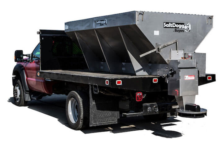 image of Salt Dogg 3.5, 4 and 4.5 Yard Conveyer Municipal Hopper Spreaders