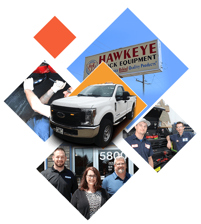 image of Hawkeye truck equipment